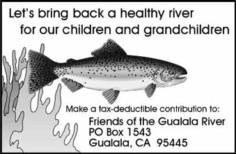 Join Friends of the Gualala River