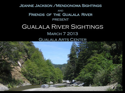 Gualala River Sightings